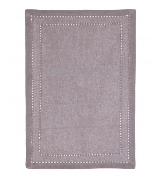 Mantel individual gris